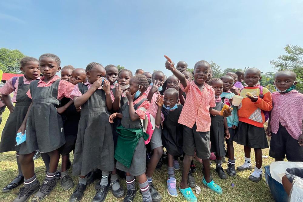 밀알복지재단 케냐사업장의 아이들