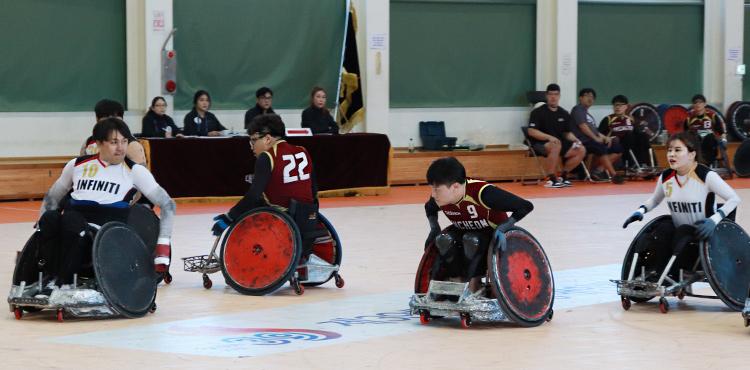 장애청소년 운동선수 지원사업